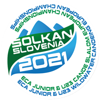 2021 European Canoe Slalom Junior and U23 Championships Logo