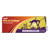 2018 IAAF Athletics World Indoor Championships Logo
