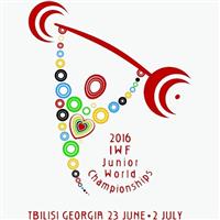 2016 World Junior Weightlifting Championships Logo
