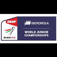 2016 BWF Badminton World Junior Championships Logo