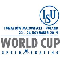 2020 Speed Skating World Cup Logo