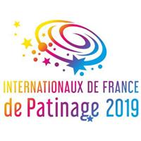 2019 ISU Grand Prix of Figure Skating Internationaux de France Logo