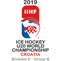 2019 Ice Hockey U20 World Championship Division II B Logo
