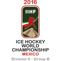 2016 Ice Hockey World Championship Division II B Logo