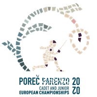 2020 Fencing Cadet And Junior European Championships Logo