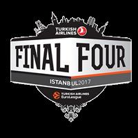 2017 Euroleague Basketball Final Four Logo