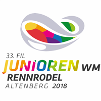 2018 Luge Junior World Championships Logo