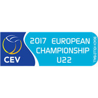2017 U22 Beach Volleyball European Championship Logo