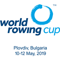 2019 World Rowing Cup I Logo