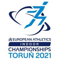 2021 European Athletics Indoor Championships Logo