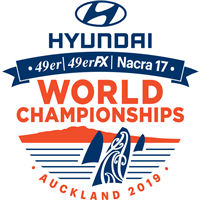 2019 49er World Championships Logo