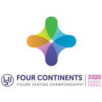 2020 Four Continents Figure Skating Championships Logo
