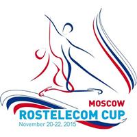 2015 ISU Grand Prix of Figure Skating Rostelecom Cup Logo