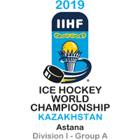 2019 Ice Hockey World Championship Division I A Logo