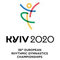 2020 Rhythmic Gymnastics European Championships Logo