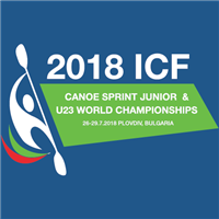 2018 Canoe Sprint Junior and U23 World Championships Logo