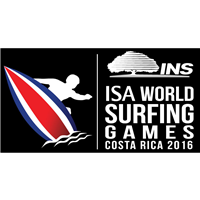 2016 World Surfing Games Logo