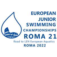 2021 European Junior Swimming Championships Logo