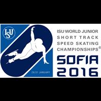 2016 World Junior Short Track Speed Skating Championships Logo