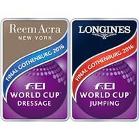 2016 Equestrian World Cup Final Logo