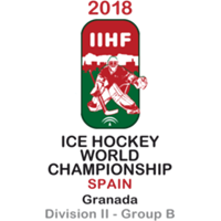 2018 Ice Hockey World Championship Division II B Logo