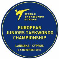 2017 European Taekwondo Junior Championships Logo