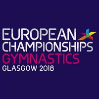 2018 European Artistic Gymnastics Championships Men Logo