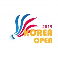 2019 BWF Badminton World Tour Korea Open Logo