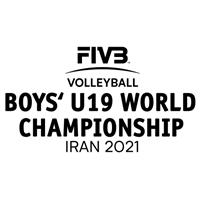 2021 FIVB Volleyball World U19 Boys Championship Logo