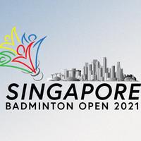 2021 BWF Badminton World Tour - Singapore Open Logo