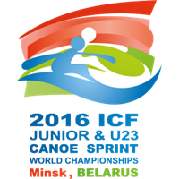 2016 Canoe Sprint Junior and U23 World Championships Logo