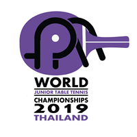 2019 World Table Tennis Junior Championships Logo