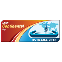 2018 IAAF Athletics Continental Cup Logo
