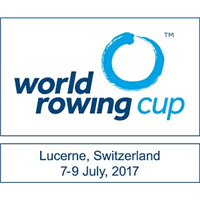 2017 World Rowing Cup III Logo