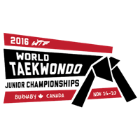 2016 World Taekwondo Junior Championships Logo