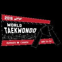 2016 World Taekwondo Junior Championships Logo