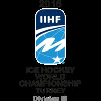2016 Ice Hockey World Championship Division III Logo