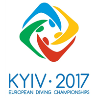 2017 European Diving Championships Logo