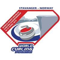 2019 World Mixed Doubles Curling Championship Logo