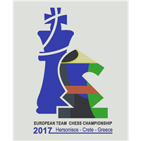 2017 European Team Chess Championship Logo