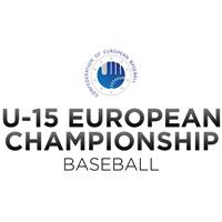2021 European Baseball Championship - U15 Logo