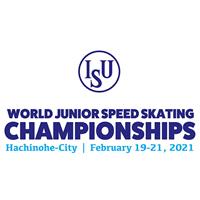2021 World Junior Speed Skating Championships Logo