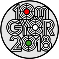 2018 European Shooting Championships 10 m Logo