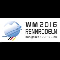 2016 Luge World Championships Logo