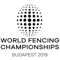 2019 World Fencing Championships Logo