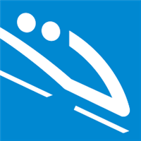2018 Winter Olympic Games Two-man Logo