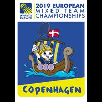 2019 European Team Badminton Championships Logo