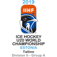 2019 Ice Hockey U20 World Championship Division II A Logo