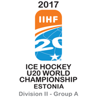 2017 Ice Hockey U20 World Championship Division II A Logo