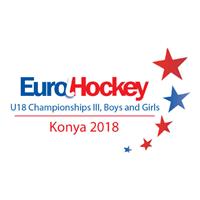 2018 EuroHockey U18 Championships III Logo